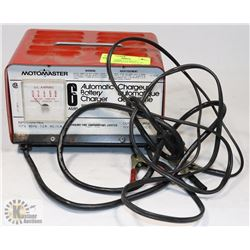 MOTOMASTER AUTOMATIC BATTERY CHARGER WITH AUTO
