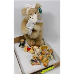 NEW BEARINGTON COLLECTION  STUFFED TEDDY BEAR AND