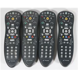 LOT OF 4 TELUS REMOTES