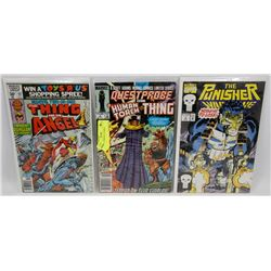 3 PACK OF MARVEL COMICS.