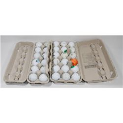 TWO CARTONS OF 36 GOLF BALLS.
