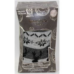 TOASTIES BY TOTES ONE SIZE MENS SLIPPER SOCKS