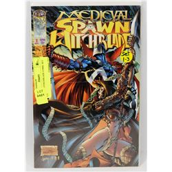 SPAWN WITHCHBLADE COMIC SET 1-3