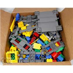 BOX W/ OVER 100 PCS OF DUPLO