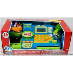 NEW KIDS DELUXE CASH REGISTER TOY