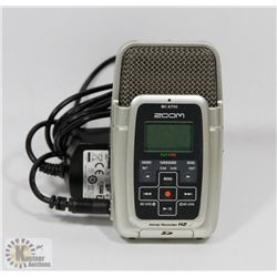 ZOOM HANDY RECORDER H2 WITH POWER SUPPLY