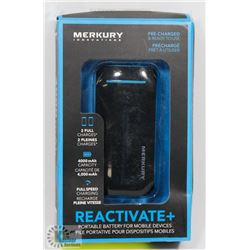 MERKURY INNOVATIONS 4,000mAh REACTIVATE +