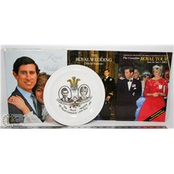 FLAT OF ENGLISH ROYALTY COLLECTIBLES INCLUDING