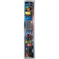 NEW READY2FISH KIDS COMPLETE FISHING COMBO SET.