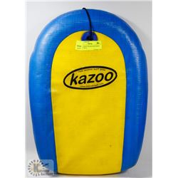 "KAZOO BODY BOARD WITH WRIST STRAP ""REAL"
