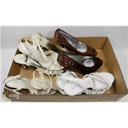 6 PAIRS OF  WOMENS SHOES