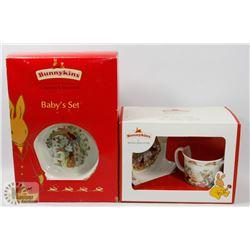ROYAL DOULTON BUNNYKINS TWO SETS