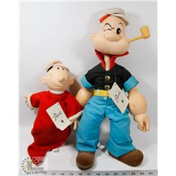 POPEYE AND SWEET PEA COLLECTIBLE TOYS