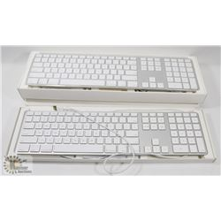LOT OF 2 APPLE KEYBOARDS