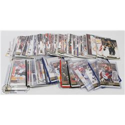 LOT OF 121 UPPER DECK CANVAS HOCKEY CARDS 2011-18.