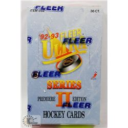 FLEER ULTRA 92-93 SERIES II PREMIER EDITION