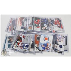 LOT OF 22 JERSEY HOCKEY CARDS - ASST SETS & YEARS