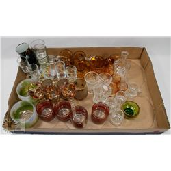 LOT OF SHOT GLASS AND MORE