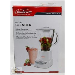 NEW SUNBEAM 6 CUP BLENDER
