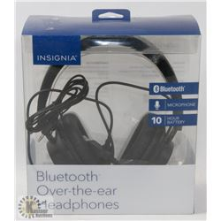 NEW INSIGNIA OVER EAR BLUETOOTH HEADPHONES