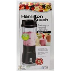 NEW HAMILTON BEACH PERSONAL CREATIONS BLENDER