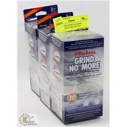 3 PLACKERS GRIND NO MORE DENTAL NIGHT PROTECTOR