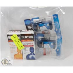 BAG OF ASSORTED BEYLIN COLD & FLU PRODUCTS