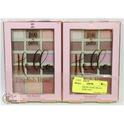 LOT OF 2 PIXI BY PETRA HELLO ENGLISH ROSE FACE