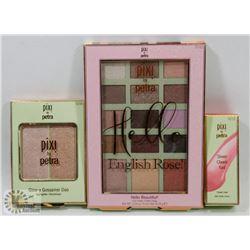 PIXI BY PETRA CONCEALER, HIGHLIGHTER, CHEEK STAIN,