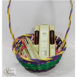 BASKET OF PIXI BY PETRA PRODUCTS INCL MOISTURIZER,