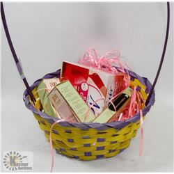 BASKET OF PIXI BY PETRA & NAIR PRODUCTS.