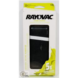 RAYOVAC 10000MAH POWER BANK 5X PHONE CHARGE