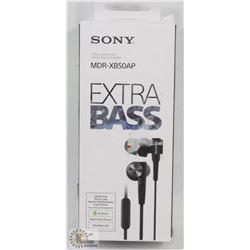 SONY XB50 AP EXTRA BASS EARPHONES