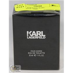 EAU DE TOILETTE KARL LEGERFELD. 30ML.
