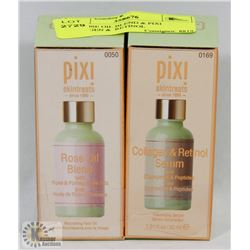 PIXI ROSE OIL BLEND & PIXI COLLAGEN &  RETINOL