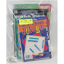 LOT OF 10 NEW WORD PUZZLES