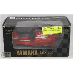 RED DIE CAST SKI DOO 1/12 SCALE