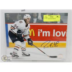 SIGNED 8X10 RYAN SMYTH