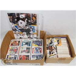 SMALL BOX HOCKEY CARDS, SOME SIGNED