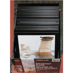 "BOX OF FIVE 8""X10"" PHOTO FRAMES."
