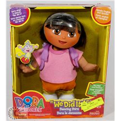 "VINTAGE DORA ""WE DID IT"" DANCING"