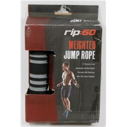 NEW! RIP:60 WEIGHTED JUMP ROPE