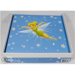 NEW DISNEY TINKERBELL SCRAPBOOK