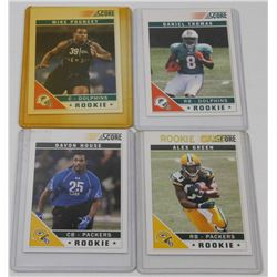LOT OF 4 ROOKIE CARDS INCL DOLPHINS DANIEL THOMAS,