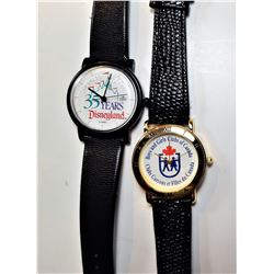 3)  LOT OF 2 DISNEY WATCHES