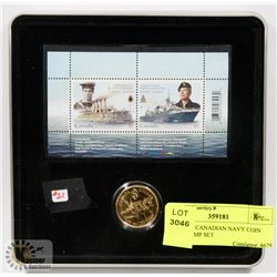 1910-2010 CANADIAN NAVY COIN AND STAMP SET