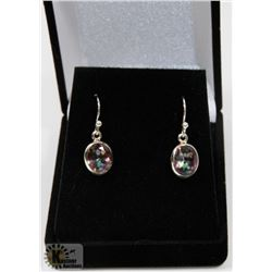 #43-RAINBOW MYSTIC EARRINGS DANGLING
