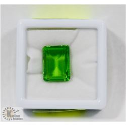 #39-GREEN TOPAZ  GEMSTONE  15.5CT
