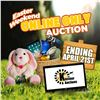 SIGN UP EARLY FOR THE EASTER ONLINE ONLY AUCTION!