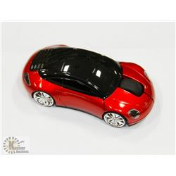 NEW RED CAR SHAPED WIRELESS MOUSE